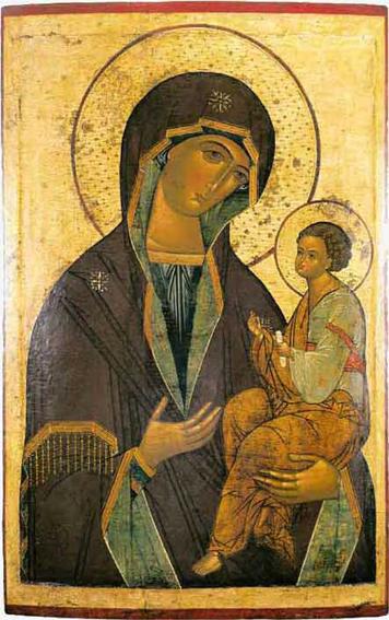 St Luc peignant la Vierge Jerusalem